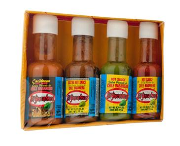 Mini 4 pack salsas habaneras SKU 85