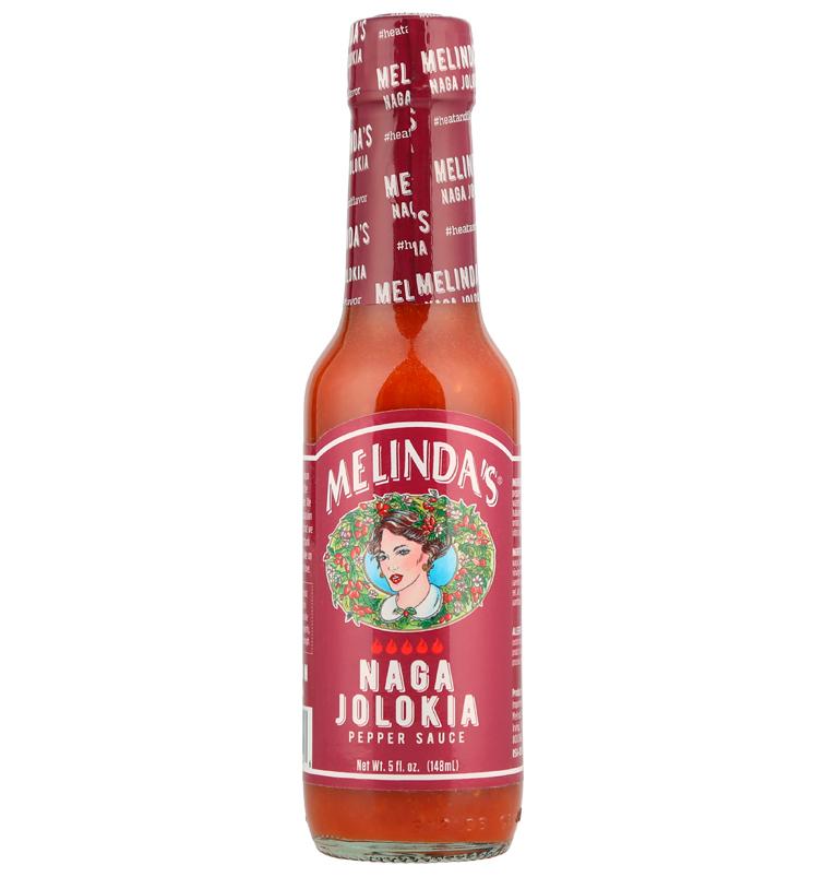 Naga Jolokia Pepper Hot Sauce SKU 50