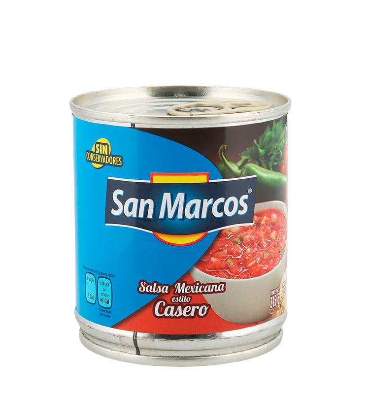 Salsa mexicana estilo casero SKU 113